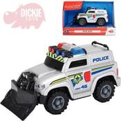 Vozidlo policie zásahové 15cm funkční na baterie Světlo Zvuk