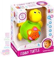 Želva dětský baby projektor s ukolébavkou hvězdná obloha Zvuk