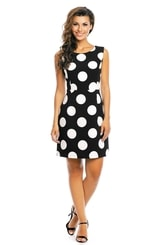 Letní puntikované šaty hs-sa519