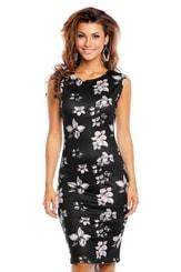 Letní květované šaty hs-sa529bl