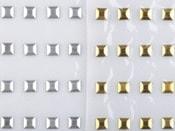 Kovový hot-fix na přenášecí fólii 5x5 mm