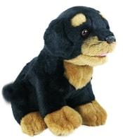 Plyšový pes Rotvajler 22 cm