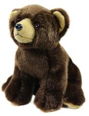 Plyšový medvěd sedící 18 cm