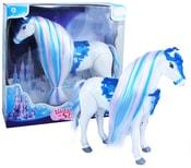 Kůň chodící, česací s vlasy zimní