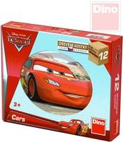 Kostky dětské set 12ks Auta ve světě (Cars)