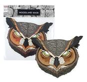 Maska papírová sova