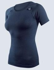 Dámské tričko s krátkým rukávem dámské, bezešvé, jednobarevné CoolMax 88000P