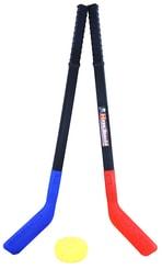 Hokejky plastové s pukem