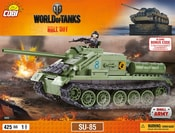 Stavebnice World of Tanks tank SU 85, 425 k, 1 f