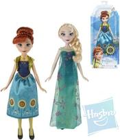 Panenka s doplňky Frozen (Ledové Království) Anna / Elsa 2 druhy