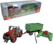 RC Traktor s přívěsem na ovládání