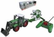 RC Traktor plastový s přívěsem na dálkové ovládání (na vysílačku) v krabici