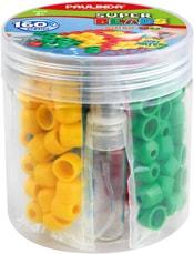Paulinda Super Beads Jumbo set korálky barevné 160ks s nádobkou spojování vodou