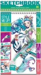 Návrhářské portfolio magické pro holčičky Style Me Up sada