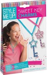 Návrhářské portfolio přívěsky klíče pro holčičky Style Me Up sada