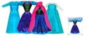 Oblečení pro panenku zimní království 4 druhy