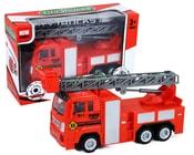 Auto hasiči s žebříkem
