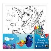 Puzzle k vymalování Hledá se Dory