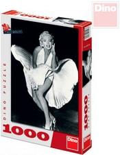 Puzzle Marilyn Monroe XL 47x66cm 1000 dílků černobílé v krabici