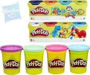 PLAY-DOH Modelína sada 4 kelímky mix barev 3 druhy