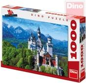 Puzzle 1000 dílků Neuschweinstein 66x47cm skládačka v krabici