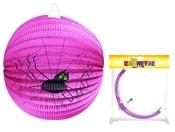 Lampion s pavoukem koule 25cm