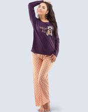 Bavlněné pyžamo Medvídek 19033P