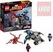 SUPER HEROES Spiderman Carnagův vzdušný útok 76036