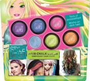 Křídy barevné smývatelné na vlasy set 5ks s aplikátorem Style Me Up