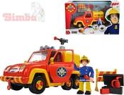 Auto hasiči Venuše 19cm Požárník Sam na baterie funkční set s figurkou