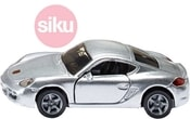 Auto model Porsche Cayman 1:55 stříbrné kovové 1433