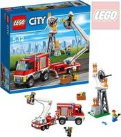 CITY Zásahové hasičské auto 60111