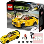 SPEED CHAMPIONS Chevrolet Corvette Z06 75870