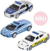 Sada 3 policejní auta