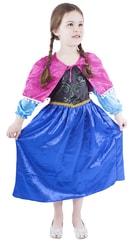 Kostým pro děti princezna zimní království, vel. S