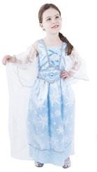 Kostým pro děti princezna zimní modrá, vel. S