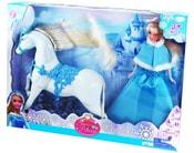 Sada panenka princezna s koněm, 29 cm