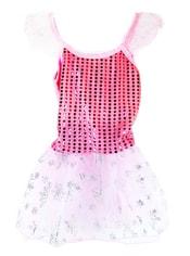 Kostým pro děti na karneval princezna růžová, vel. S