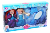 Set panenky zimní království s příslušenstvím