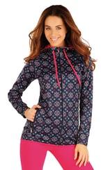 Bunda dámská s kapucí 90060