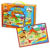 Puzzle pěnové 28 dílků dinosauři
