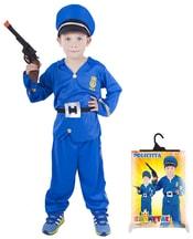 Karnevalový kostým pro děti policista, vel. S