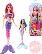 Barbie mořská panna set s doplňkem a extra pramínkem vlasů 3 druhy