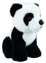 Plyšová panda sedící, 18 cm
