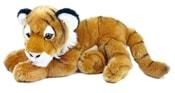 Plyšový tygr ležící, 40 cm