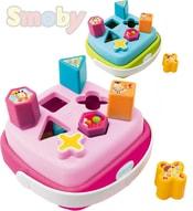 Košík baby vkládačka plastová Cotoons košík s madlem 2 barvy