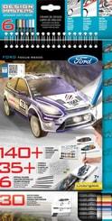 Portfolio kreativní Ford Focus set se samolepkami a pastelkami