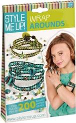 Style Me Up korálková sada kreativní výroba náramků zelenomodrá