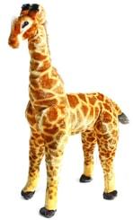 Plyšová žirafa 91 cm stojící - možno sedět