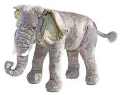 Plyšový slon 75 cm - možno sedět